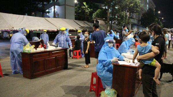 COVID-19: Thêm hàng chục ca mới, Bình Dương giãn cách xã hội toàn thành phố Thủ Dầu Một theo chỉ thị 16 - Sputnik Việt Nam