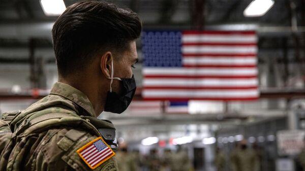 Quân nhân Hoa Kỳ sau khi trở về từ Afghanistan - Sputnik Việt Nam