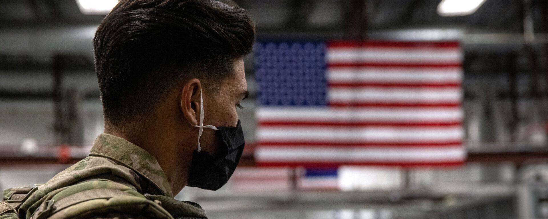 Quân nhân Hoa Kỳ sau khi trở về từ Afghanistan - Sputnik Việt Nam, 1920, 22.09.2021