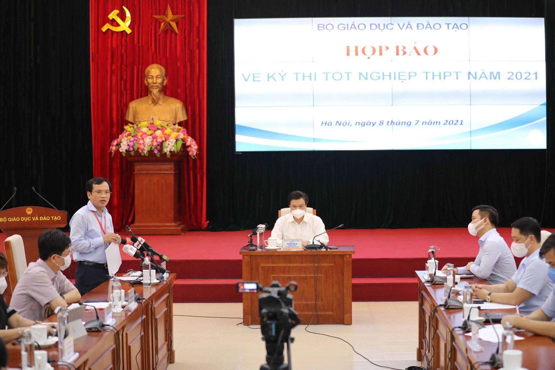 Lần chấm thi tốt nghiệp nghiêm ngặt, đáng nhớ mùa giãn cách - Sputnik Việt Nam, 1920, 13.07.2021