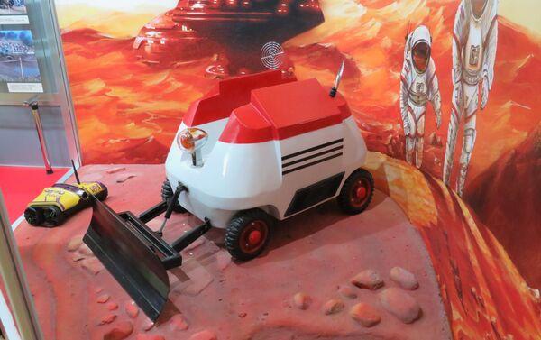 Mô hình máy ủi sao Hỏa  - Sputnik Việt Nam