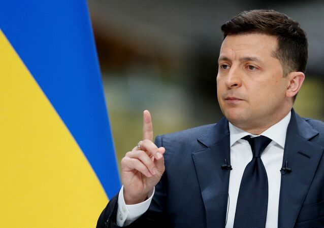 Tổng thống Ukraina Vladimir Zelensky