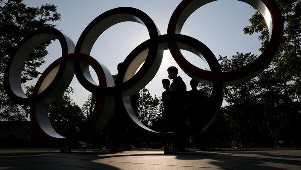 Vòng tròn Olympic tại Tokyo - Sputnik Việt Nam