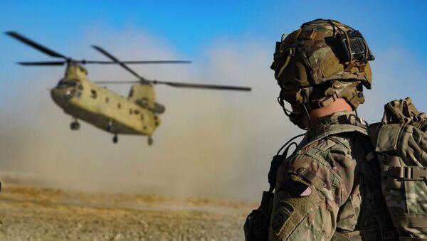 Quân đội Mỹ ở đông nam Afghanistan - Sputnik Việt Nam