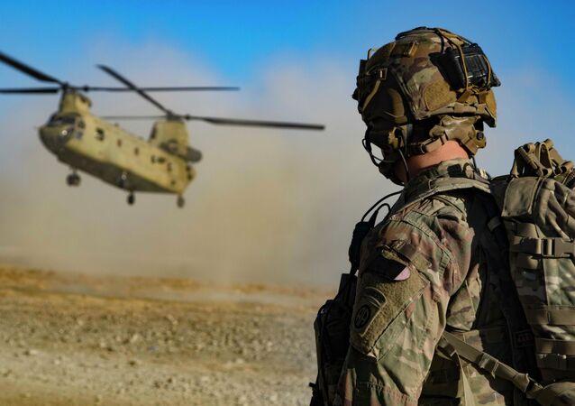 Quân đội Mỹ ở đông nam Afghanistan