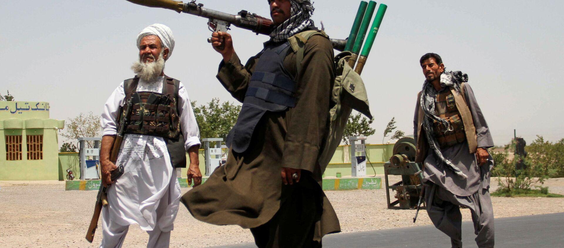 Cựu mujahideen khi giúp quân đội Afghanistan trong cuộc chiến chống lại Taliban - Sputnik Việt Nam, 1920, 22.07.2021