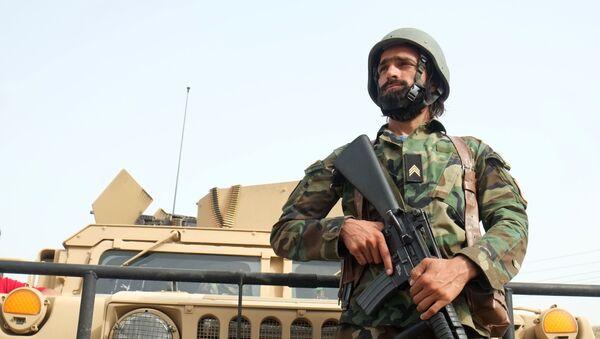 Lực lượng Quốc phòng và An ninh Afghanistan trên đường liên lạc với Taliban tại quận 7 của thành phố Kandahar - Sputnik Việt Nam