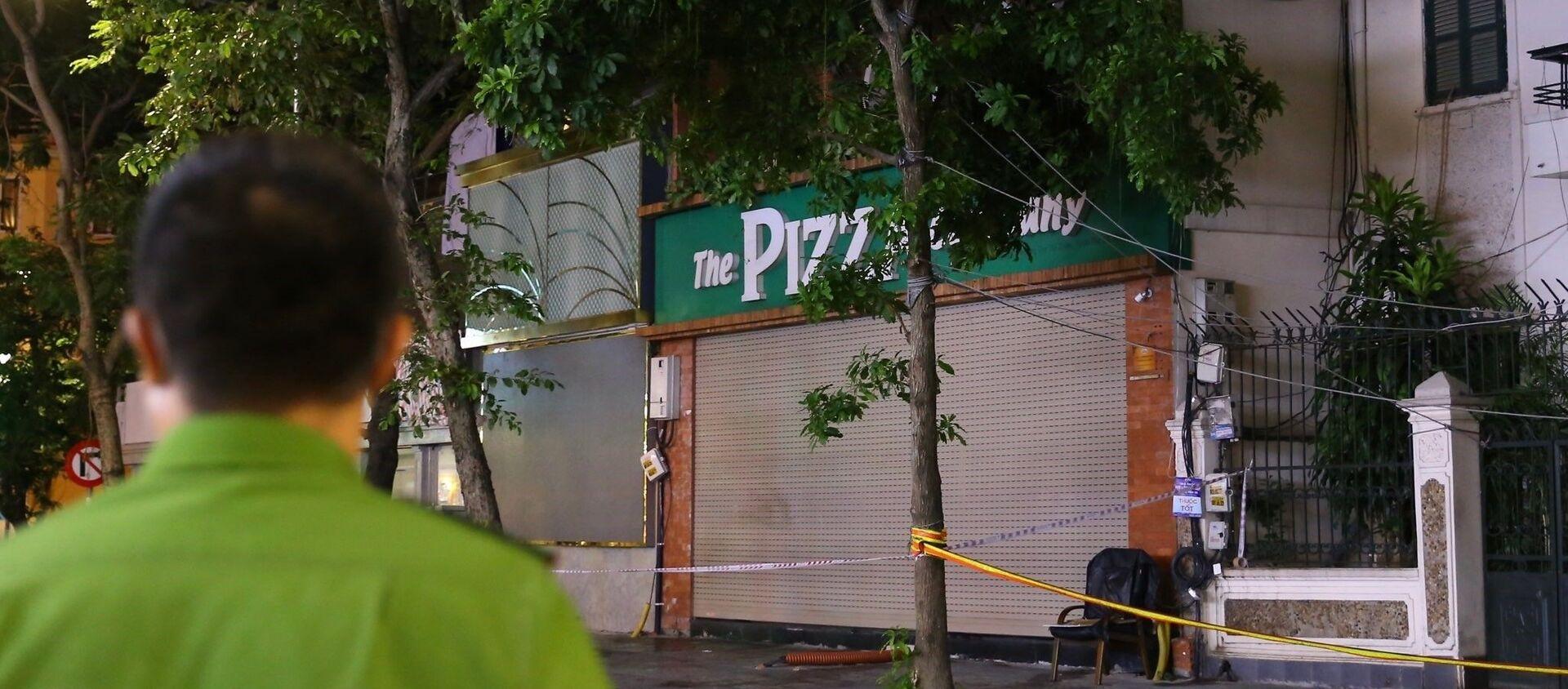 COVID-19: Hà Nội phong tỏa quán The Pizza company - Đoàn Trần Nghiệp - Sputnik Việt Nam, 1920, 16.07.2021
