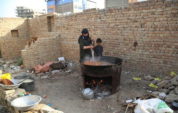 Người tị nạn trong vùng chiến sự Afghanistan - Sputnik Việt Nam
