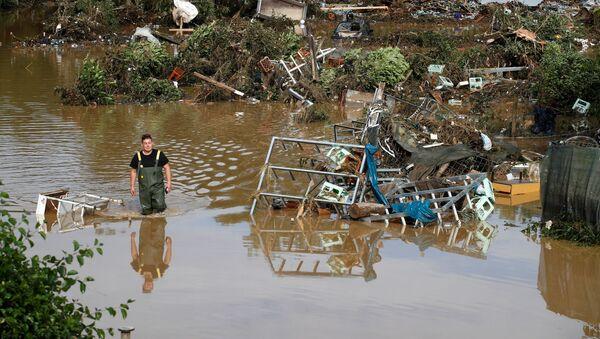 Thành phố Bad Neuenahr-Ahrweiler của Đức chịu ảnh hưởng do mưa lớn và lũ lụt - Sputnik Việt Nam