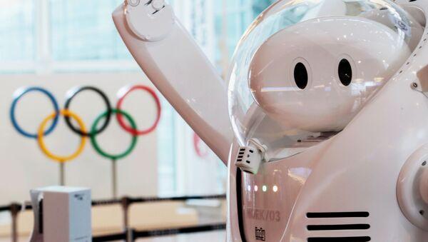 Robot tại quầy thông tin ở sân bay Haneda - Sputnik Việt Nam