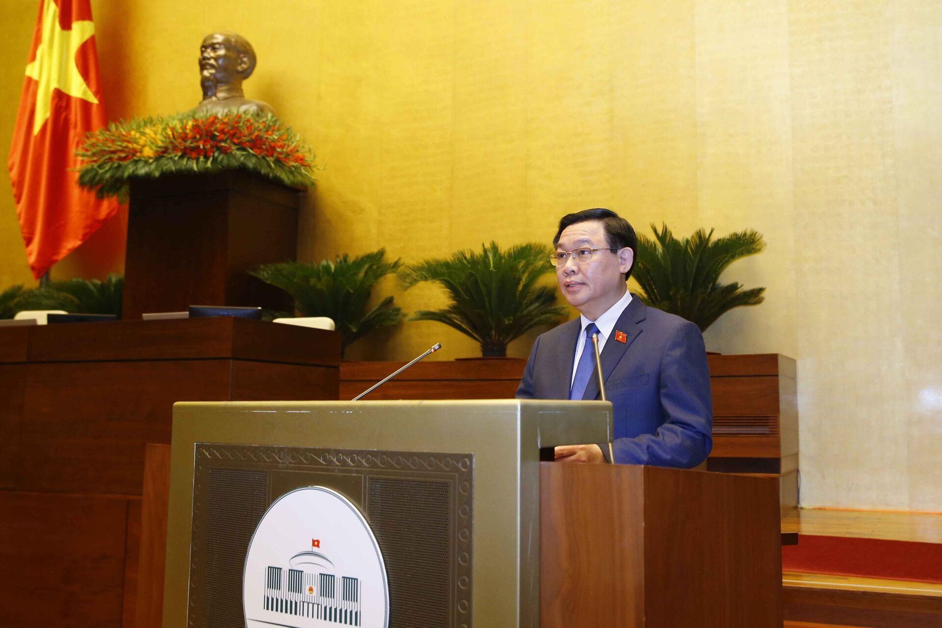 Không ai phản đối ông Vương Đình Huệ làm Chủ tịch Quốc hội Việt Nam - Sputnik Việt Nam, 1920, 20.07.2021