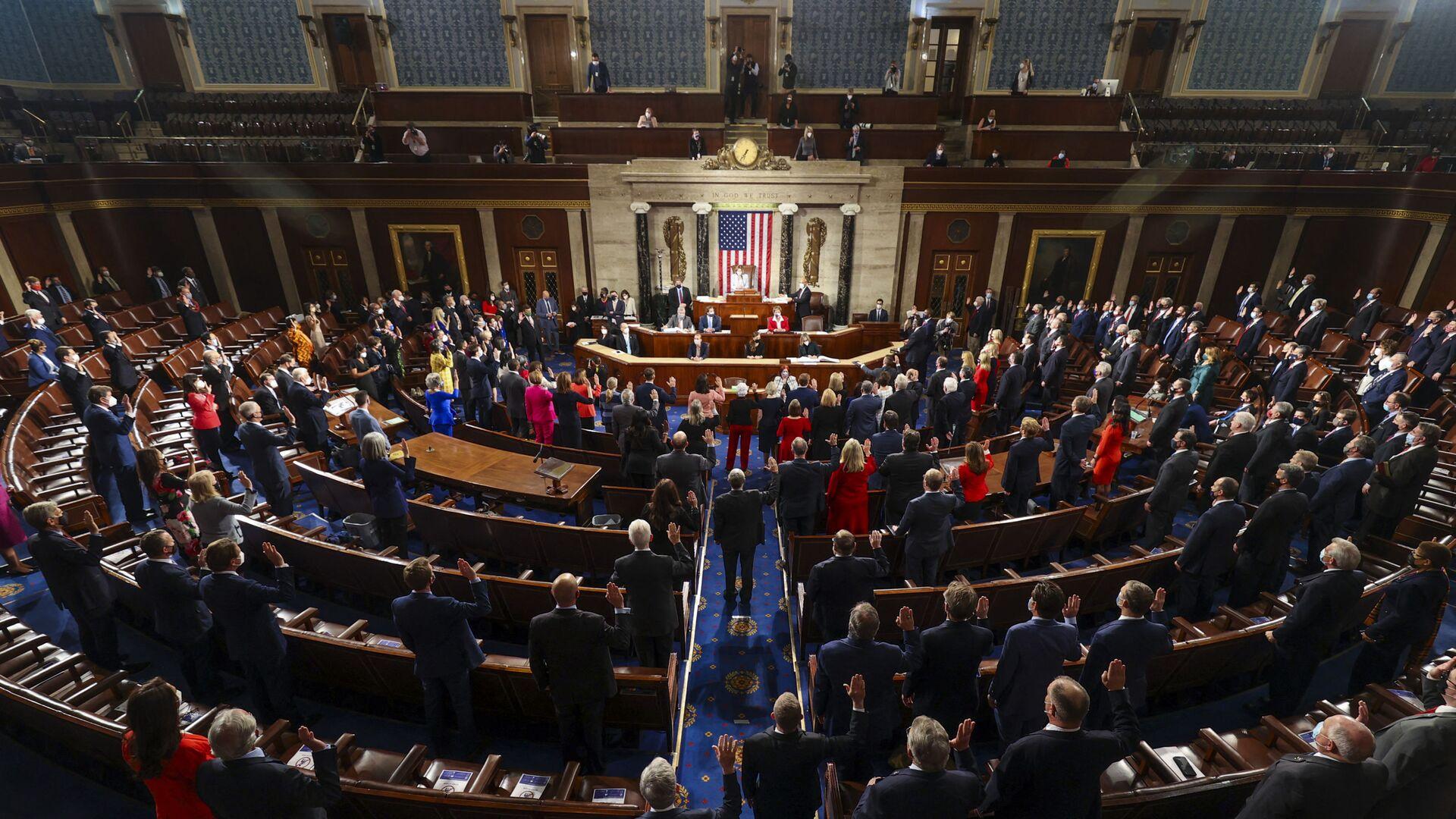 Hạ viện Quốc hội Mỹ - Sputnik Việt Nam, 1920, 22.09.2021