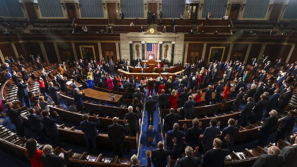 Hạ viện Quốc hội Mỹ - Sputnik Việt Nam