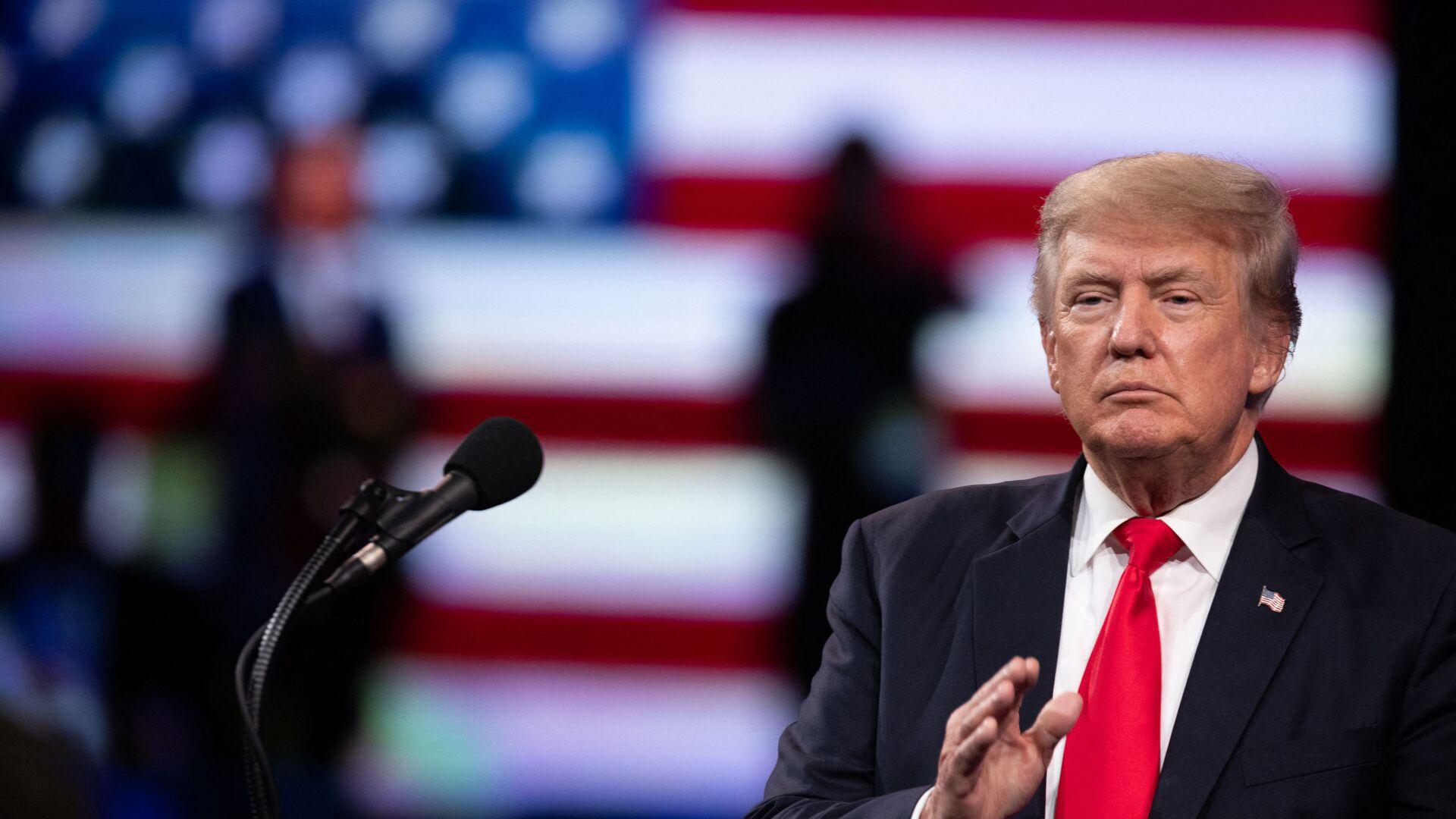 Donald Trump - Sputnik Việt Nam, 1920, 17.09.2021