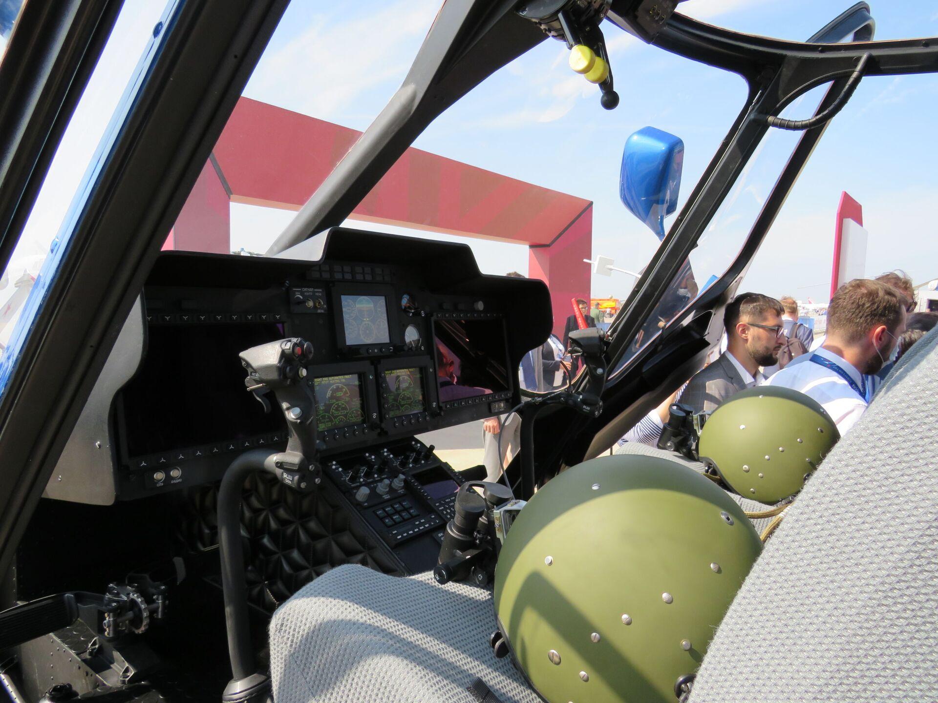 Trực thăng đa năng Ka-226T - một trong những sản phẩm được ra mắt tại MAKS-2021 - Sputnik Việt Nam, 1920, 21.07.2021