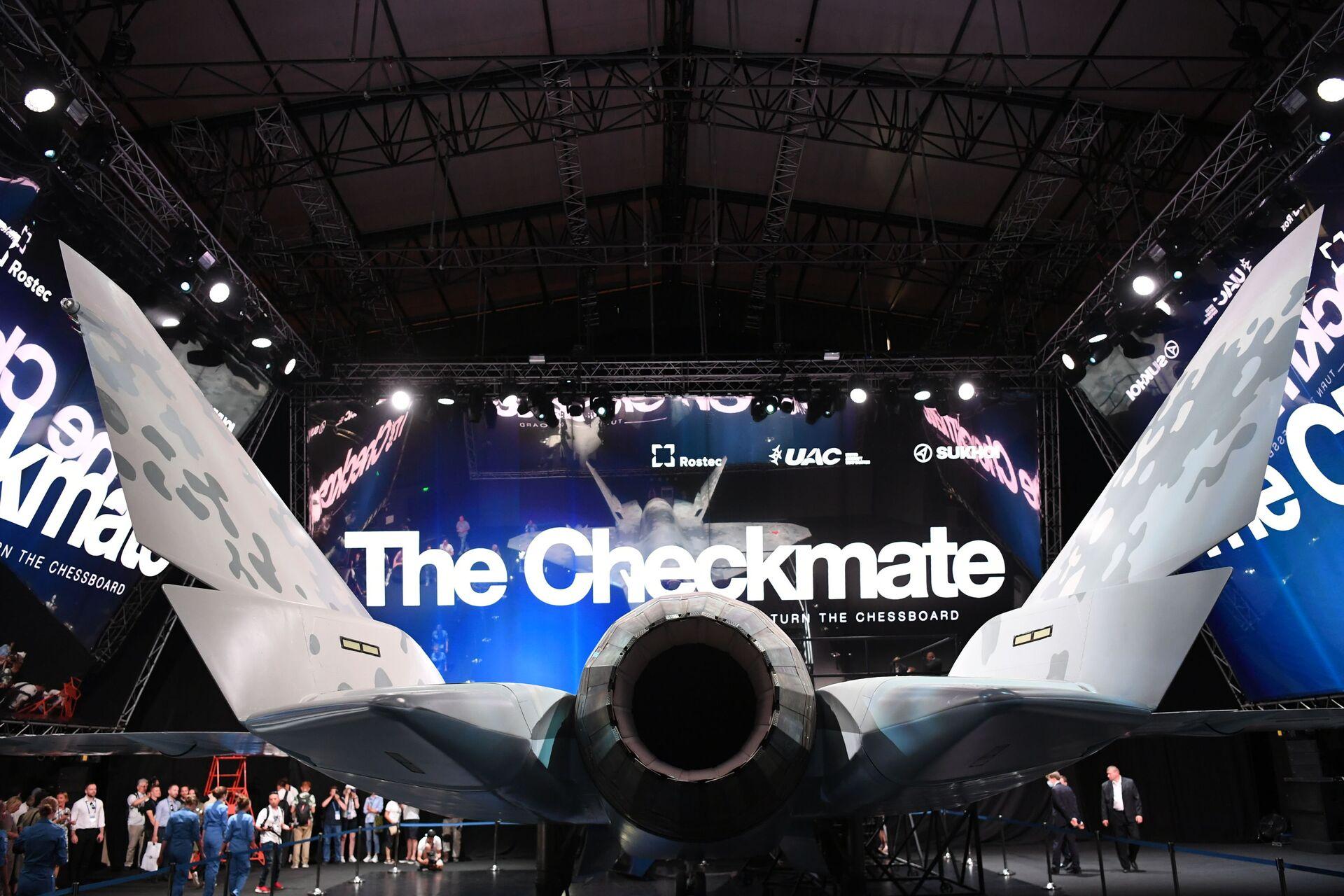 Thông số về máy bay chiến đấu Checkmate mới của Nga khiến người Mỹ thất vọng về đất nước mình - Sputnik Việt Nam, 1920, 22.07.2021