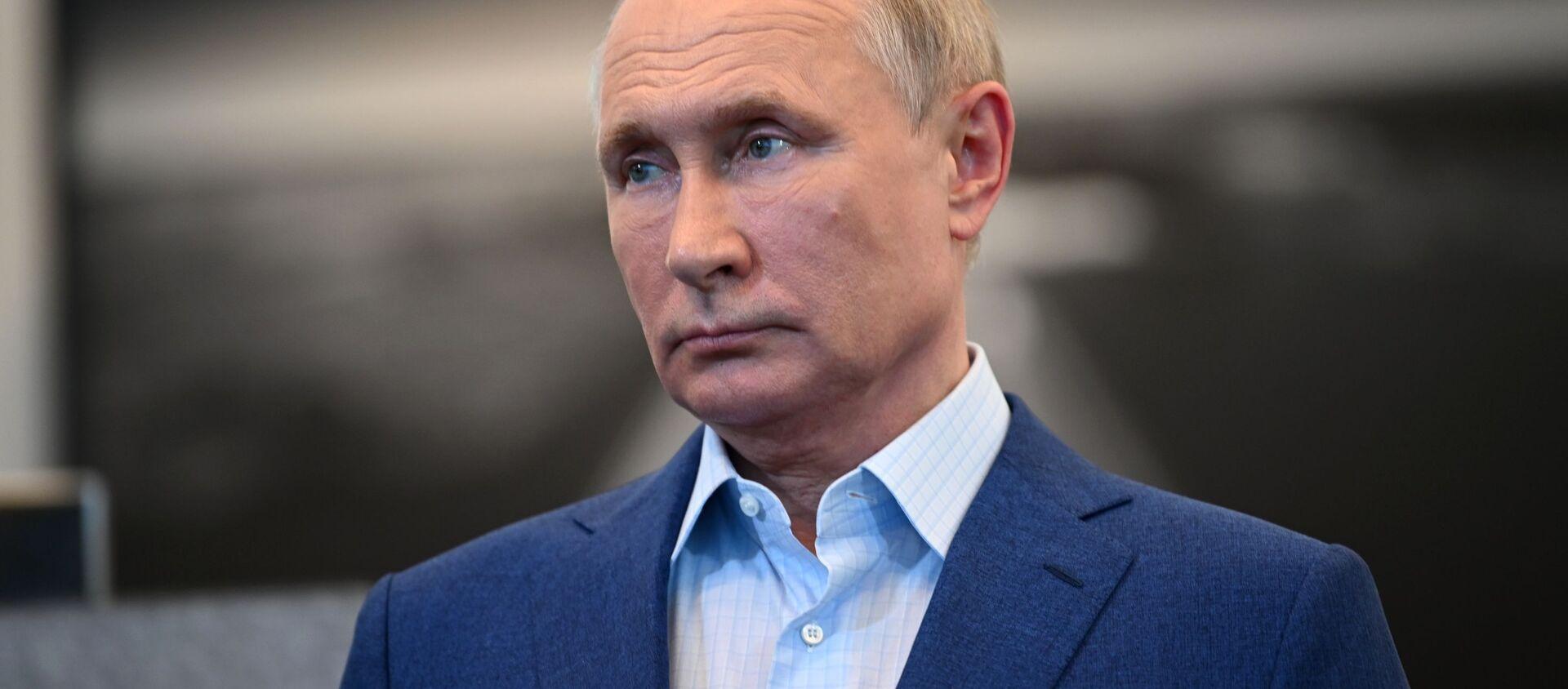 Tổng thống Nga Vladimir Putin - Sputnik Việt Nam, 1920, 18.08.2021