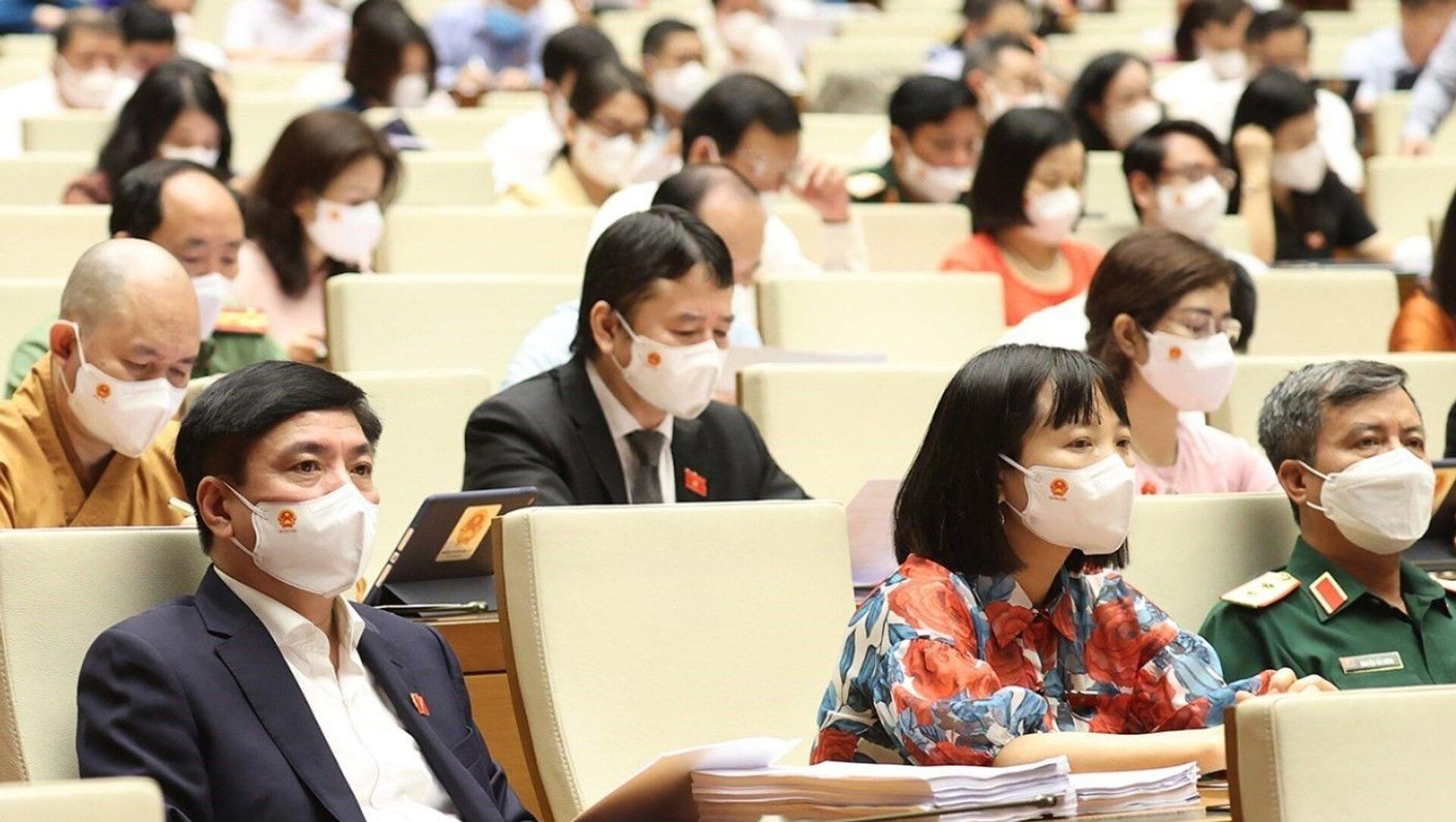 Quốc hội nghe báo cáo về kế hoạch phát triển KT-XH giai đoạn 2021-2025 - Sputnik Việt Nam, 1920, 23.07.2021