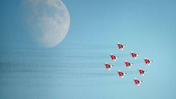 Chương trình bay trong khuôn khổ MAKS-2021 - Sputnik Việt Nam