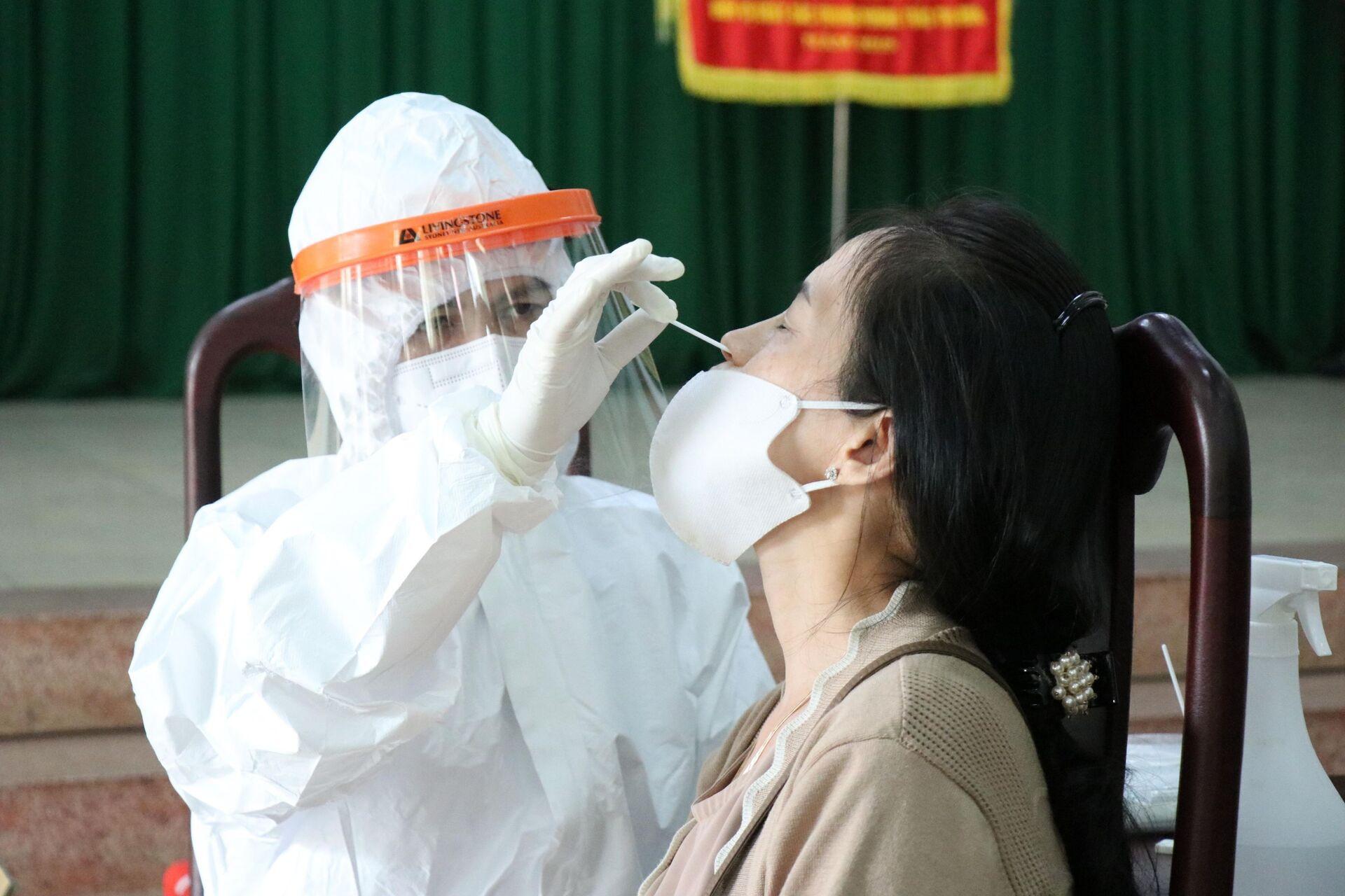 Việt Nam đang xem xét cấp phép khẩn cấp vaccine Nanocovax của Nanogen - Sputnik Việt Nam, 1920, 22.07.2021