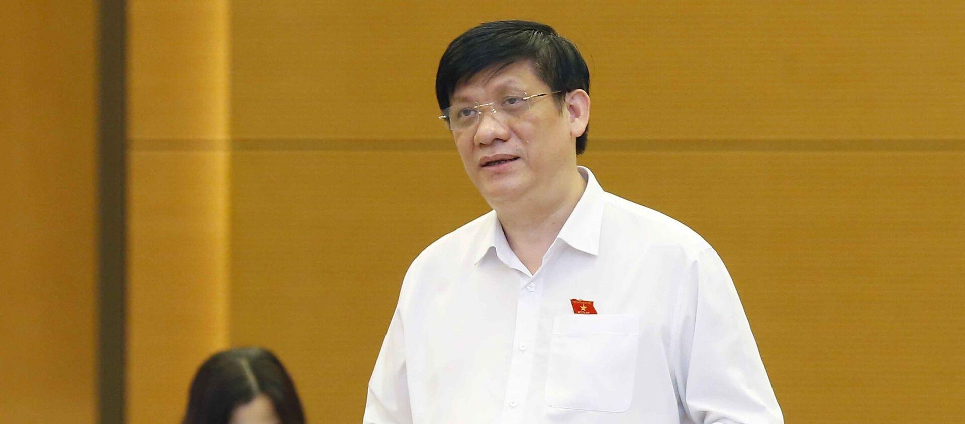 Quốc hội bổ sung nội dung phòng, chống dịch COVID-19 vào Nghị quyết Kỳ họp thứ nhất - Sputnik Việt Nam, 1920, 24.07.2021