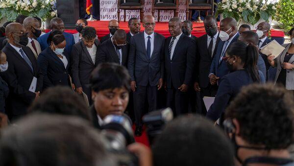 Ariel Henri nhậm chức Thủ tướng Haiti - Sputnik Việt Nam