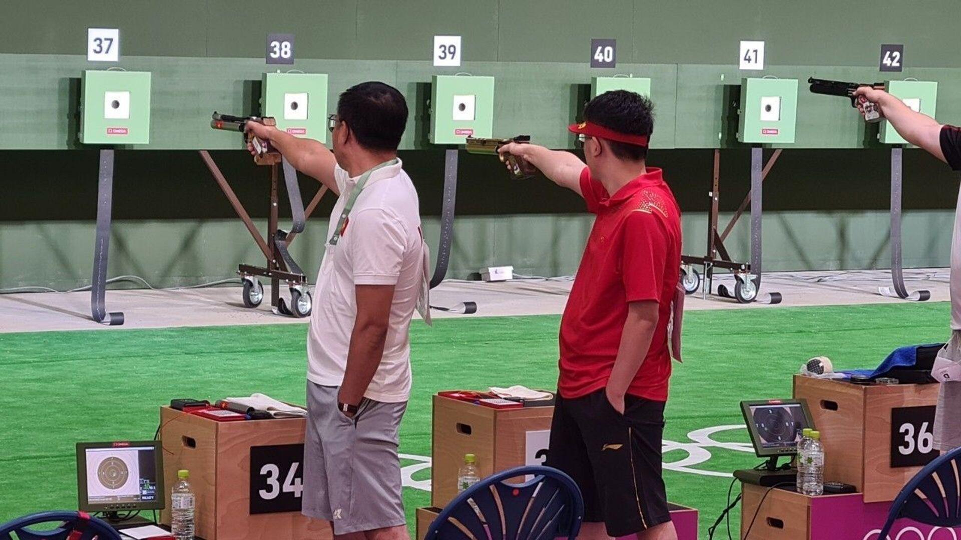 Olympic Tokyo 2020: Cập nhật thành tích thi đấu của đoàn thể thao Việt Nam đến đầu giờ chiều ngày 24/7 - Sputnik Việt Nam, 1920, 05.10.2021