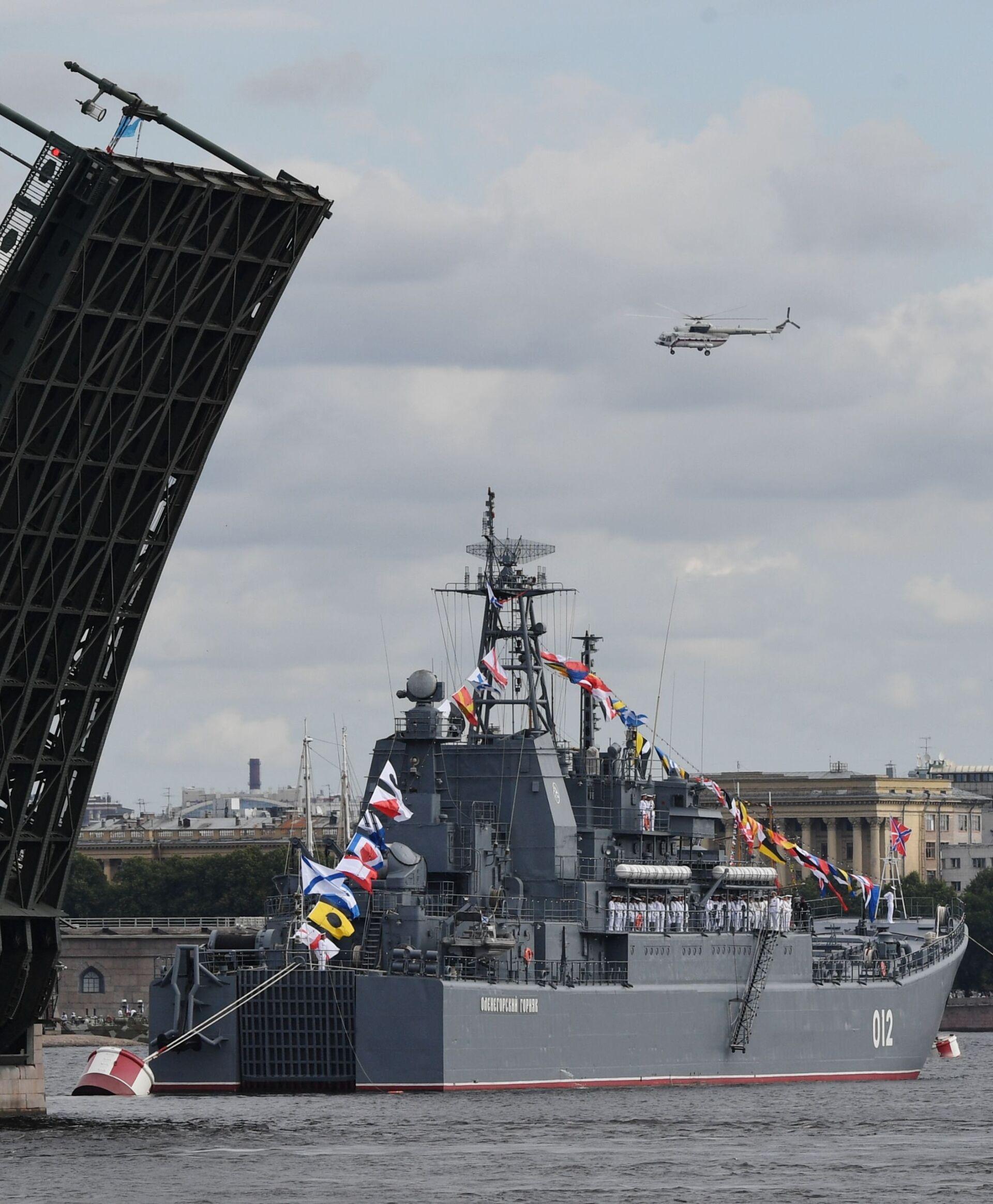 Tổng thống Putin: Hải quân Nga có tất cả mọi thứ cần thiết để bảo vệ đất nước - Sputnik Việt Nam, 1920, 25.07.2021