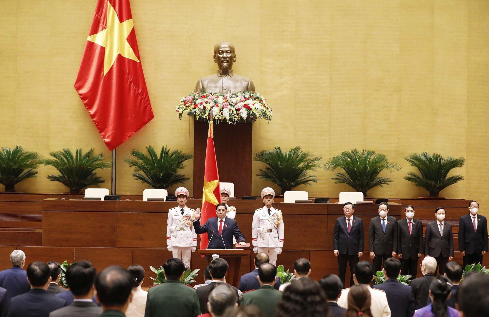 Việt Nam tất thắng và ưu tiên 'số một' của Chính phủ ông Phạm Minh Chính hiện nay - Sputnik Việt Nam, 1920, 26.07.2021