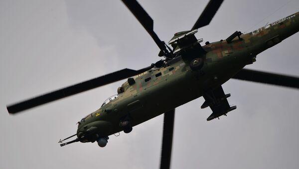 Máy bay trực thăng Mi-35M - Sputnik Việt Nam