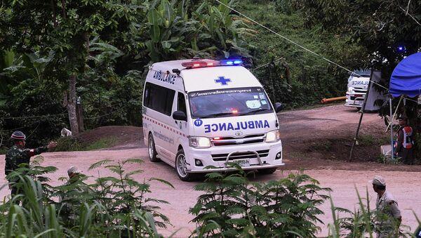 Xe cứu thương ở Thái Lan - Sputnik Việt Nam