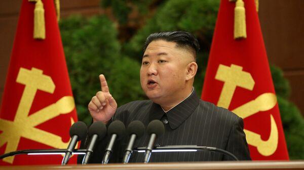 Nhà lãnh đạo CHDCND Triều Tiên Kim Jong-un - Sputnik Việt Nam