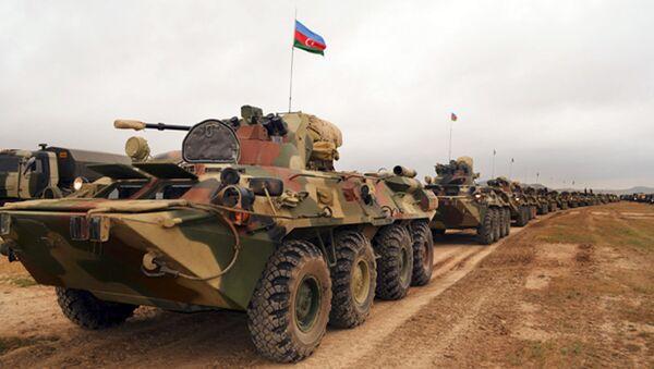 Xe bọc thép của Lực lượng vũ trang Azerbaijan - Sputnik Việt Nam