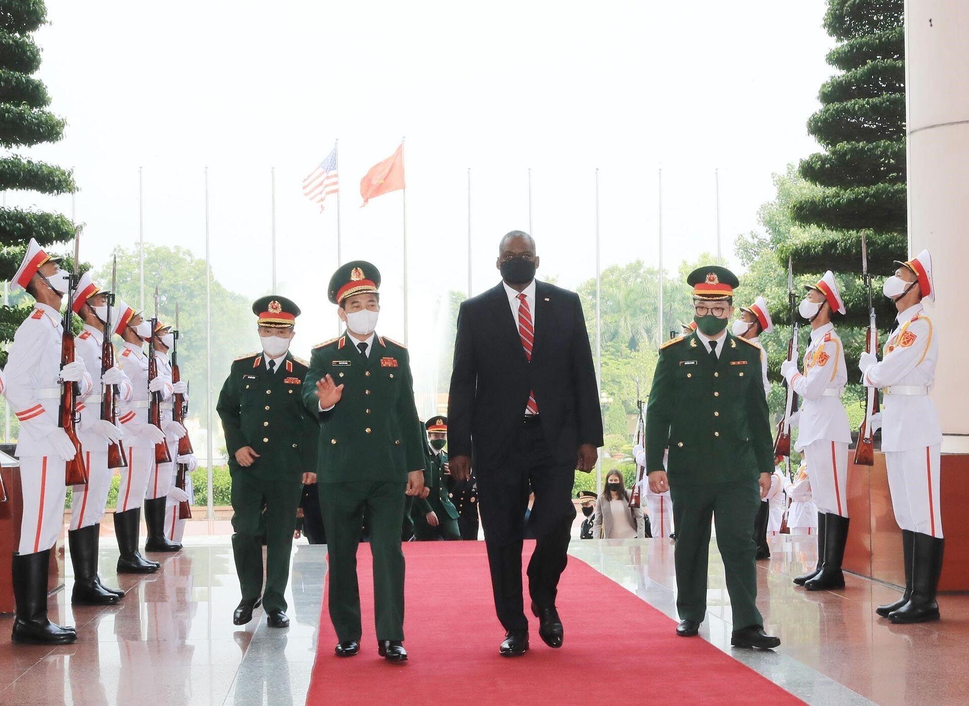 Bộ trưởng Quốc phòng Hoa Kỳ Lloyd Austin thăm chính thức Việt Nam - Sputnik Việt Nam, 1920, 05.10.2021