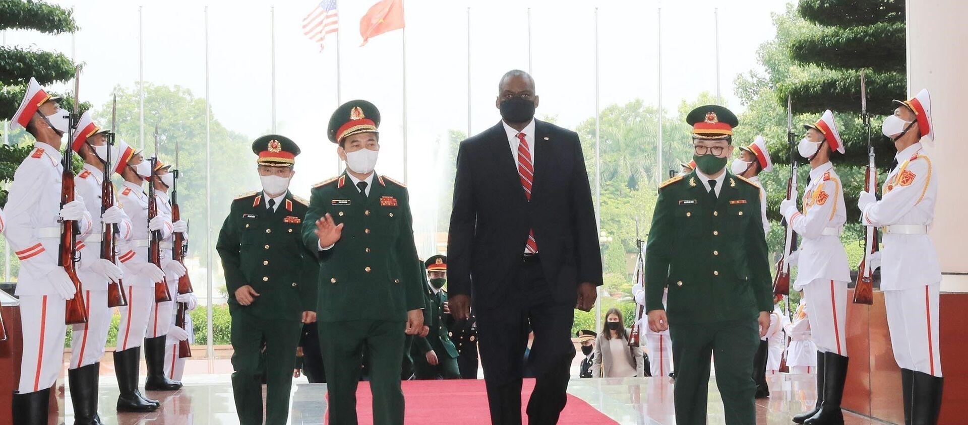 Bộ trưởng Quốc phòng Hoa Kỳ Lloyd Austin thăm chính thức Việt Nam - Sputnik Việt Nam, 1920, 29.07.2021