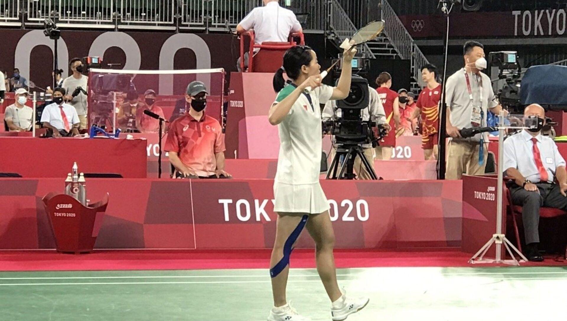 Olympic Tokyo 2020: Tay vợt Thùy Linh giành thắng lợi trong trận mở màn - Sputnik Việt Nam, 1920, 29.07.2021