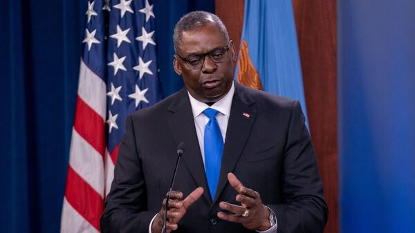 Bộ trưởng Quốc phòng Hoa Kỳ Lloyd Austin - Sputnik Việt Nam
