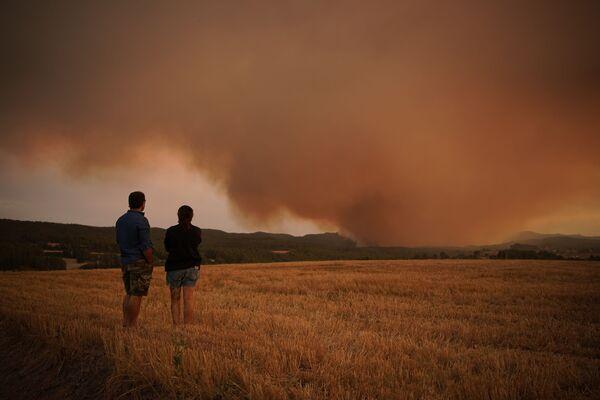 Cháy rừng ở Catalonia, Tây Ban Nha - Sputnik Việt Nam