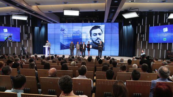Nghi lễ trao Giải thưởng Quốc tế The Khaled Alkhateb Memorial Awards - Sputnik Việt Nam