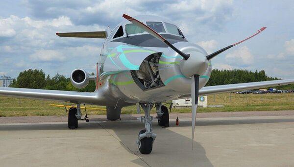 Máy bay Yak-40LL tại triển lãm Hàng không và Vũ trụ Quốc tế MAKS-2021 - Sputnik Việt Nam