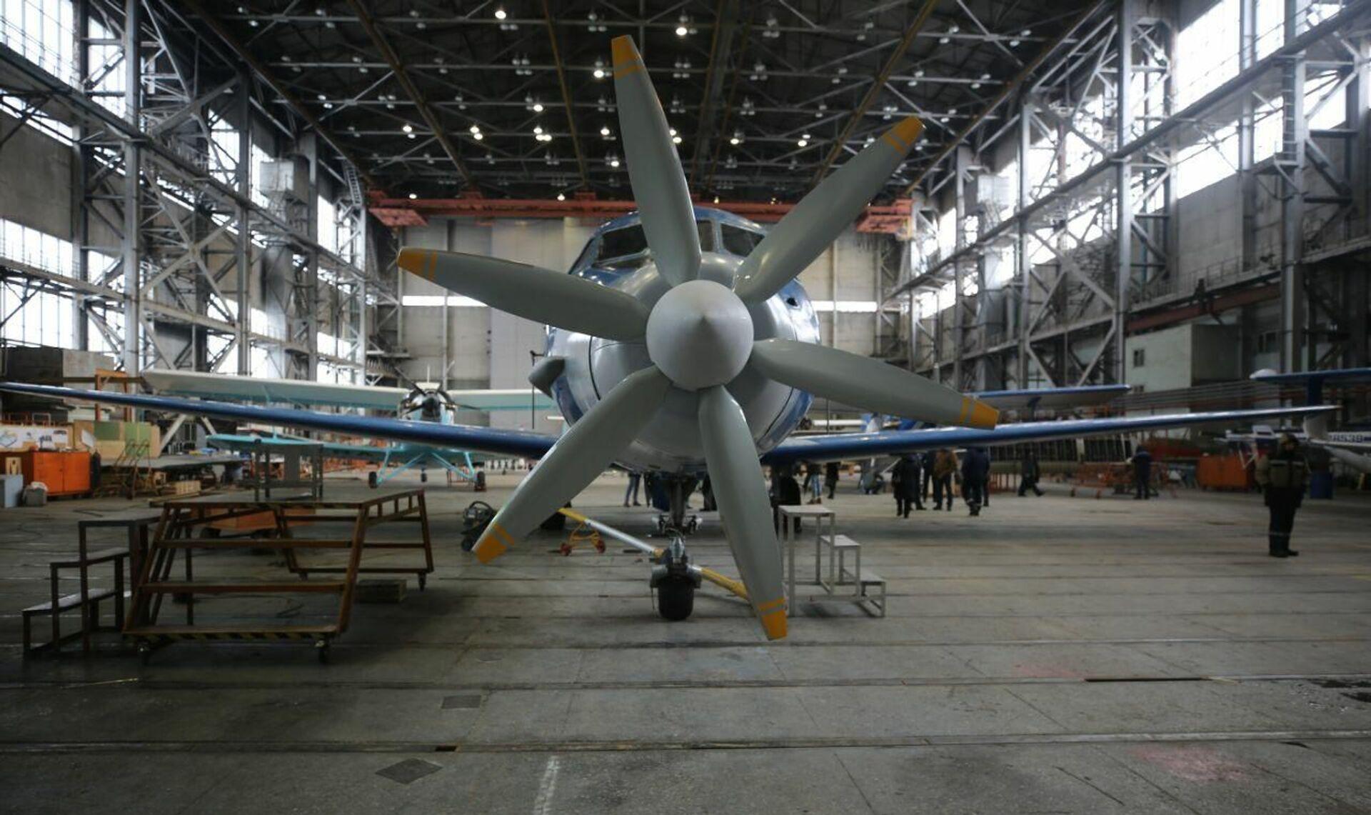 Sản xuất tại Nga: động cơ điện thiết kế dành riêng cho máy bay đầu tiên trên thế giới - Sputnik Việt Nam, 1920, 31.07.2021