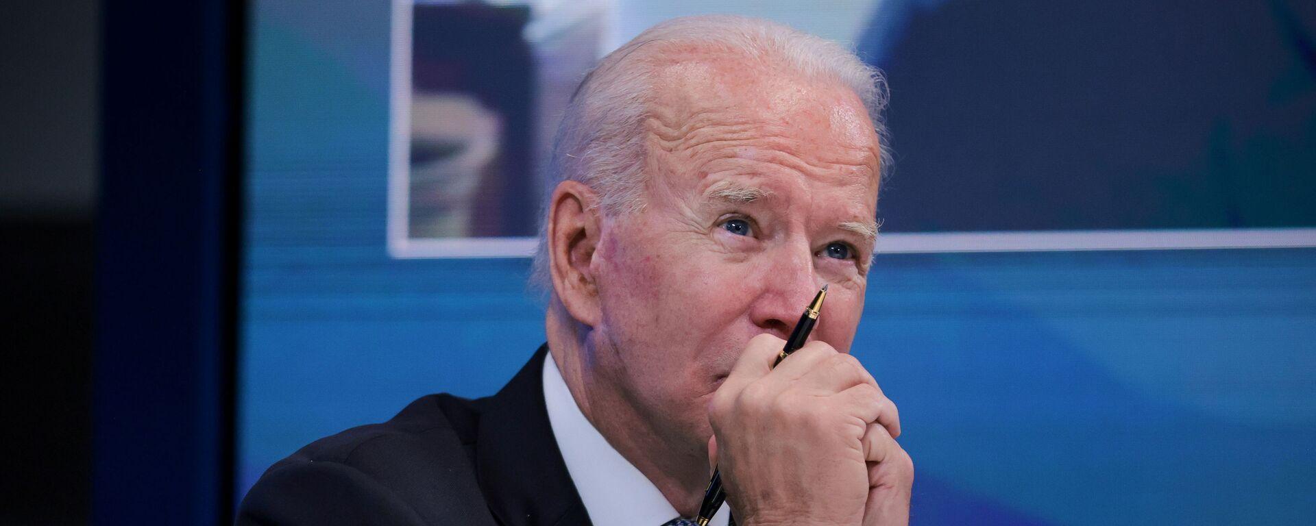 Tổng thống Mỹ Joe Biden - Sputnik Việt Nam, 1920, 01.09.2021