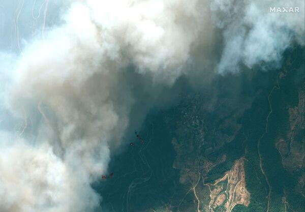 Hình ảnh vệ tinh về cháy rừng ở Thổ Nhĩ Kỳ - Sputnik Việt Nam