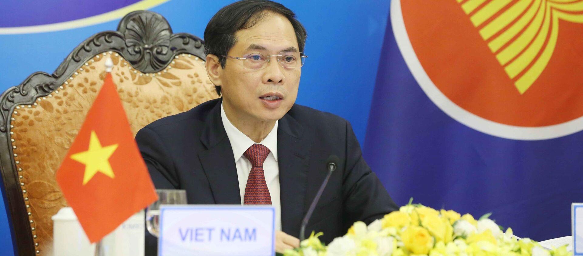 Hội nghị Bộ trưởng Ngoại giao ASEAN lần thứ 54 - Sputnik Việt Nam, 1920, 02.08.2021