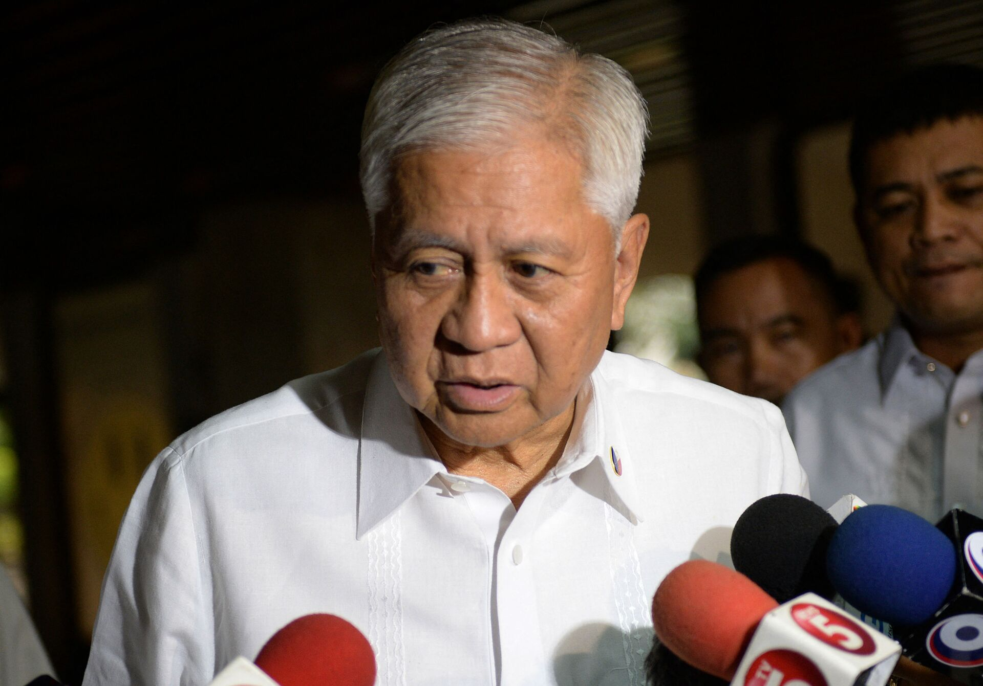 Cựu ngoại trưởng Philippines Albert del Rosario - Sputnik Việt Nam, 1920, 05.10.2021