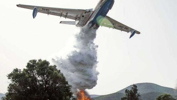 Dập tắt đám cháy rừng ở Thổ Nhĩ Kỳ - Sputnik Việt Nam