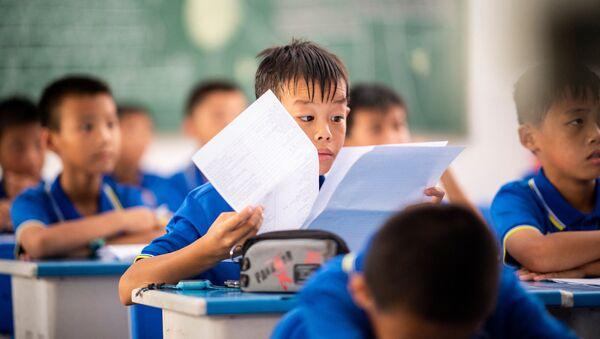 Học sinh Trung Quốc - Sputnik Việt Nam