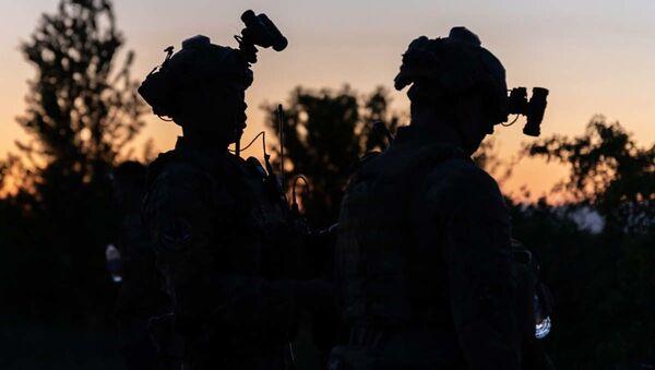 Quân đội Mỹ trong cuộc tập trận Swift Response 21 của NATO - Sputnik Việt Nam
