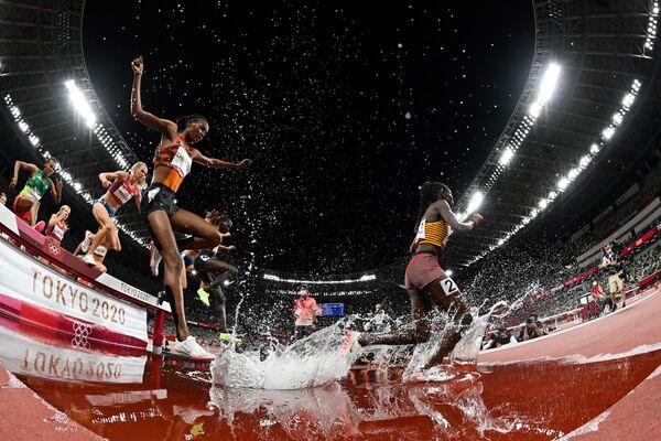 Chung kết cuộc thi chạy dành cho nữ tại Thế vận hội Olympic 2020 ở Tokyo - Sputnik Việt Nam